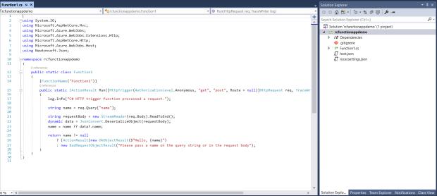 VS Function App Code.png